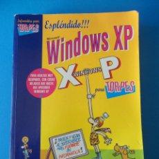 Libros de segunda mano: MICROSOFT WINDOWS XP PARA TORPES - ANAYA MULTIMEDIA - FORGES - VICENTE TRIGO ARANDA. Lote 70081981