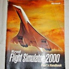Libros de segunda mano: MANUAL MICROSOFT FLIGHT SIMULATOR 2000.. Lote 70417513