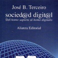 Libros de segunda mano: SOCIEDAD DIGITAL. Lote 71020529