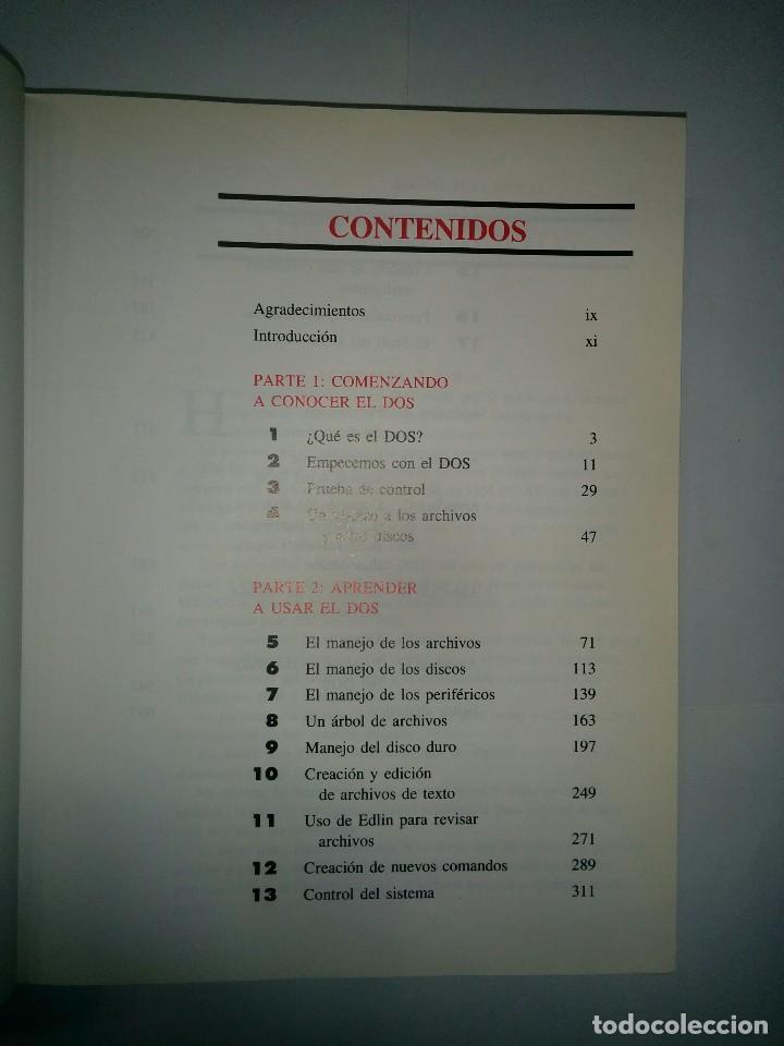 Libros de segunda mano: EL LIBRO DEL MS DOS 1991 VAN WOLVERTON EDICIONES ANAYA - Foto 3 - 73358611