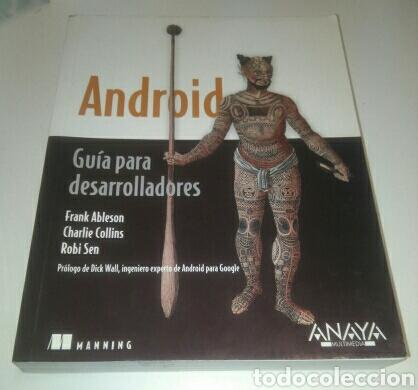 ANDROID GUIA PARA DESARROLLADORES. LIBRO PROGRAMACION, INFORMATICA (Libros de Segunda Mano - Informática)