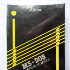 Libros de segunda mano: MS-DOS SISTEMA ERAGILEA.. Lote 74433002