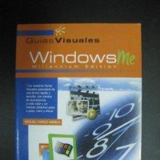 Libros de segunda mano: GUIA VISUAL WINDOWS ME. MIGUEL PARDO NIEBLA. ANAYA 2000.. Lote 74686147