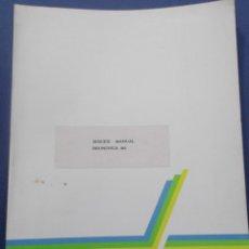 Libros de segunda mano: MANUAL TECNICO PARA SERVICIO DE MAQUINA OLYMPIA BRUNSVIGA M1. Lote 75432423