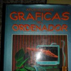 Libros de segunda mano: APLICACIONES GRÁFICAS DEL ORDENADOR, JOHN LEWELL, ED. HERMANN BLUME. Lote 75707895