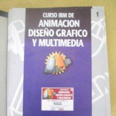 Libros de segunda mano: CURSO IBM DE ANIMACIÓN, DISEÑO Y MULTIMEDIA Nº 1 CA CRICKET PAINT I. Lote 79130757