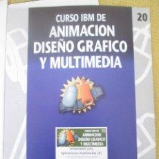 Libros de segunda mano: CURSO IBM DE ANIMACIÓN, DISEÑO Y MULTIMEDIA Nº 20 WINDOWS VI, APLICACIONES MULTIMEDIA,II. Lote 79135837