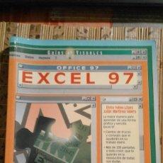 Libros de segunda mano: GUÍAS VISUALES. EXCEL 97 - ELVIRA YEBES LÓPEZ Y JULIÁN MARTÍNEZ VALERO - ANAYA MULTIMEDIA. Lote 79609089