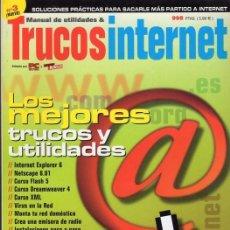 Libros de segunda mano: TRUCOS INTERNET. NUMEROS 1, 3 Y 4. Lote 79843509