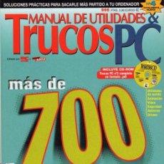 Libros de segunda mano: TRUCOS PC. NÚMEROS 1, 3 Y 4. Lote 79843713