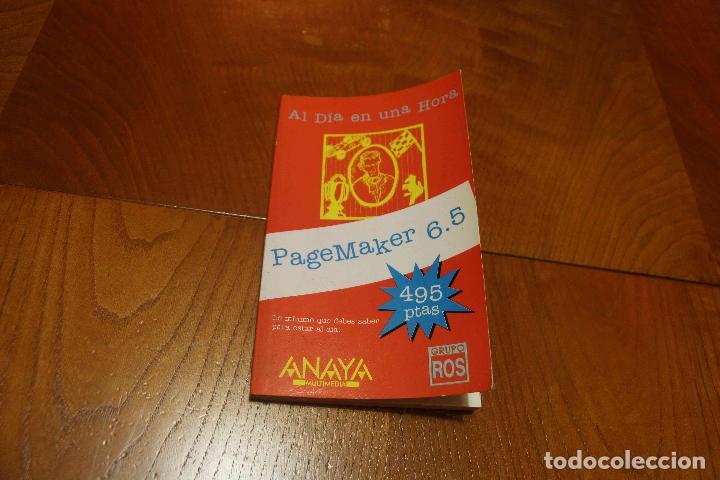 PAGEMAKER 6.5 (Libros de Segunda Mano - Informática)