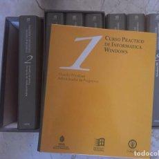 Libros de segunda mano: CURSO PRACTICO DE INFORMÁTICA WINDONS -8 TOMOS- . Lote 80960980