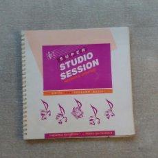 Libros de segunda mano: SUPER STUDIO SESSIONS - FOR APPLE MACINTOSH - FROM 512-E TO MAC II - MANUAL DE USUARIO (INGLES). Lote 82441436