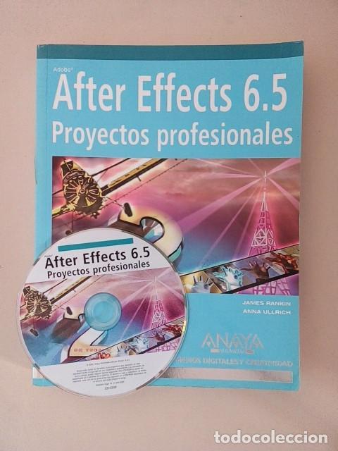 AFTER EFFECTS 6.5 PROYECTOS PROFESIONALES (Libros de Segunda Mano - Informática)