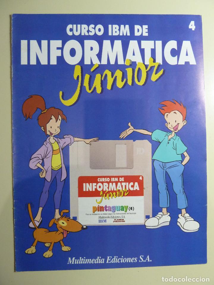 CURSO IBM DE INFORMATICA JUNIOR - MULTIMEDIA EDICIONES (Libros de Segunda Mano - Informática)