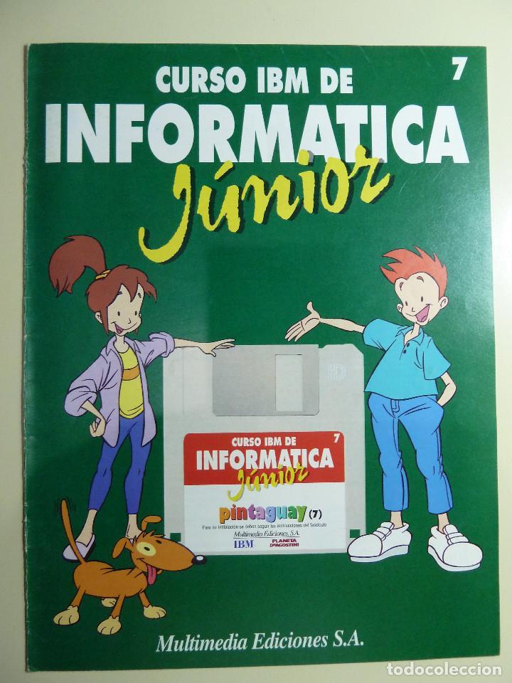 Libros de segunda mano: CURSO IBM DE INFORMATICA JUNIOR - MULTIMEDIA EDICIONES - Foto 3 - 84417884