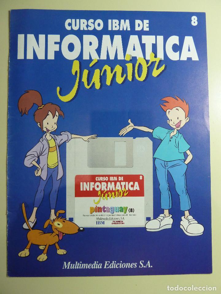 Libros de segunda mano: CURSO IBM DE INFORMATICA JUNIOR - MULTIMEDIA EDICIONES - Foto 4 - 84417884