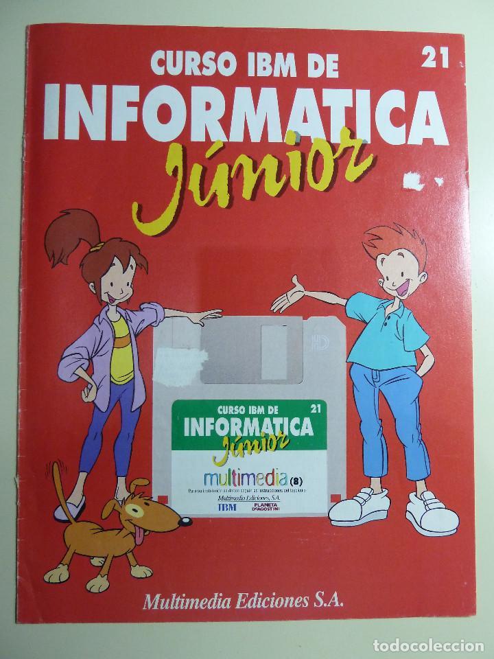 Libros de segunda mano: CURSO IBM DE INFORMATICA JUNIOR - MULTIMEDIA EDICIONES - Foto 7 - 84417884