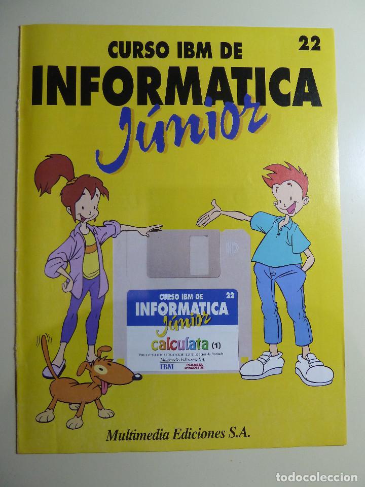 Libros de segunda mano: CURSO IBM DE INFORMATICA JUNIOR - MULTIMEDIA EDICIONES - Foto 8 - 84417884
