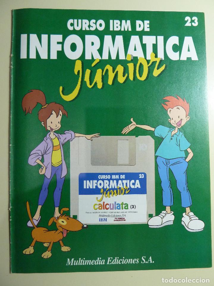 Libros de segunda mano: CURSO IBM DE INFORMATICA JUNIOR - MULTIMEDIA EDICIONES - Foto 9 - 84417884