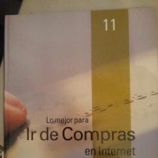 Libros de segunda mano: GUIA PRACTICA DE INTERNET 2000 N 11 -LO MEJOR DE IR DE COMPRAS EN INTERNET -REFSAMUESCES2CE. Lote 84545528