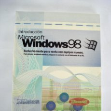 Livros em segunda mão: MANUAL SISTEMA OPERATIVO WINDOWS 98 CON LICENCIA DE USUARIO - PERFECTO ESTADO. Lote 85610536