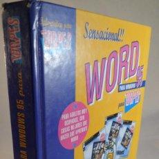 Libros de segunda mano: WORD 95. PARA TORPES. ANAYA. ILUSTRACIONES DE FORGES. Lote 86104184