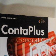 Libros de segunda mano: CURSO DE CONTAPLUS. FCO. JAVIER MORENO. INCLUYE CD-ROM. ANAYA. Lote 86106188