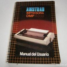 Libros de segunda mano: MANUAL DE USUARIO AMSTRAD - IMPRESORA DMP 4000 - INSTRUCCIONES - COMPATIBLE CPC PCW Y SPECTRUM. Lote 86563152