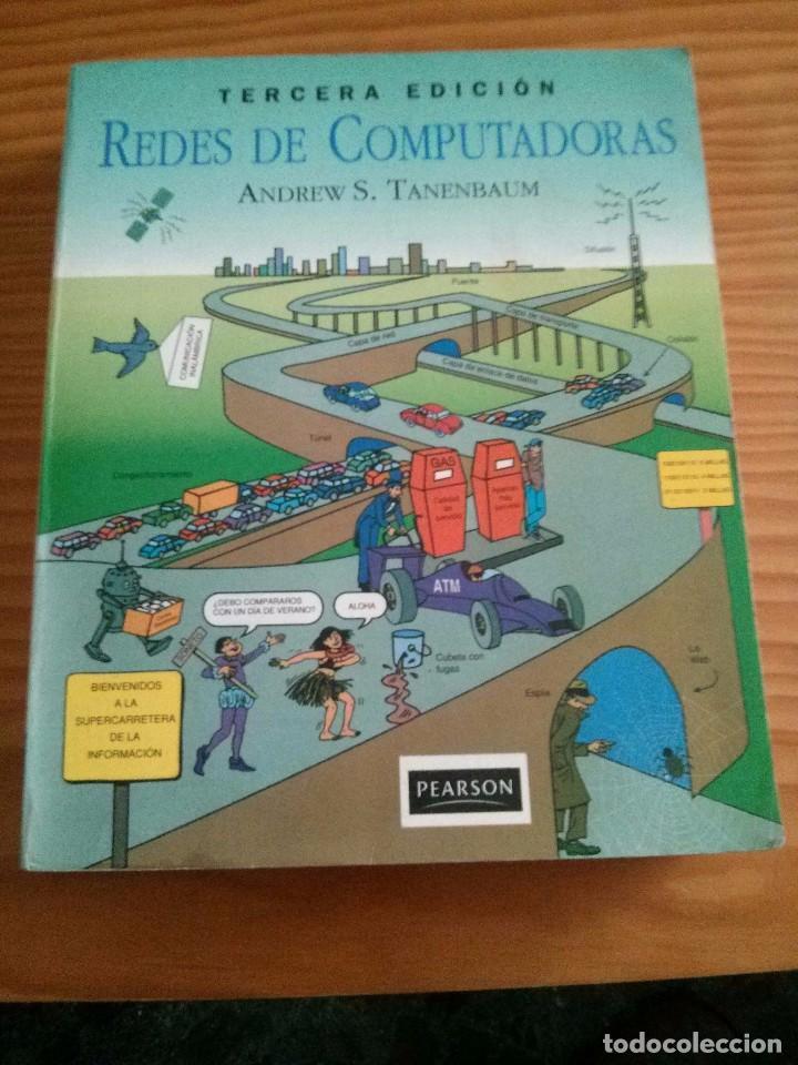 LIBRO REDES DE COMPUTADORAS TERCERA EDICIÓN DE ANDREW S.TANENBAUM EDITORIAL PEARSON AÑO 1997 (Libros de Segunda Mano - Informática)