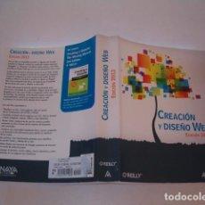 Libros de segunda mano: MATTHEW MACDONALD. CREACIÓN Y DISEÑO WEB. EDICIÓN 2012. RM81294. . Lote 88877416