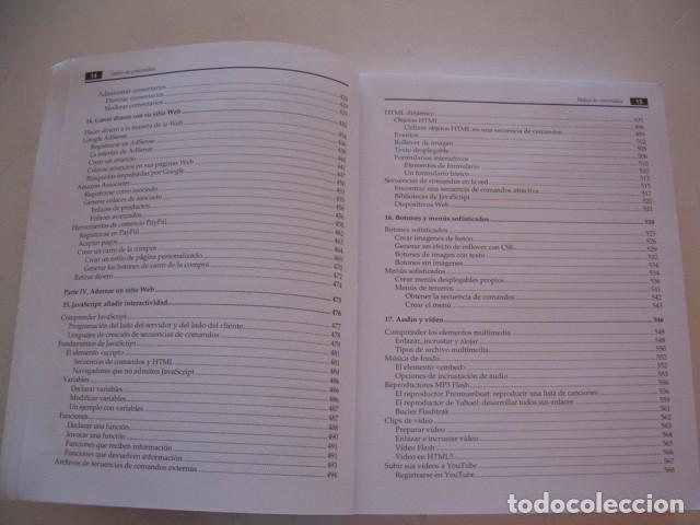 Libros de segunda mano: MATTHEW MACDONALD. Creación y diseño Web. Edición 2012. RM81294. - Foto 6 - 88877416