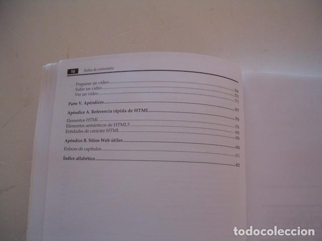 Libros de segunda mano: MATTHEW MACDONALD. Creación y diseño Web. Edición 2012. RM81294. - Foto 7 - 88877416