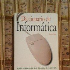 Libros de segunda mano: DICCIONARIO DE INFORMÁTICA - EQUIPO DOS. Lote 89603384