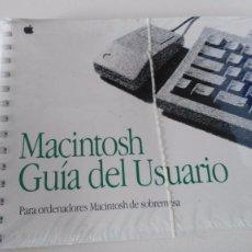 Libros de segunda mano: MACINTOSH - GUIA DEL USUARIO-PARA ORDENADORES MACINTOSH DE SOBREMESA - APPEL. Lote 91291135