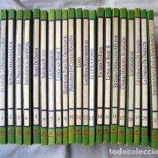 Libros de segunda mano: GRAN BIBLIOTECA AMSTRAD. ENCICLOPEDIA DE INFORMÁTICA AÑOS 80. COMPLETA 21 TOMOS. Lote 91410635