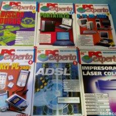 Libros de segunda mano: LOTE 6 PRIMEROS NÚMEROS PC EXPERTO DE PC ACTUAL. Lote 91458070