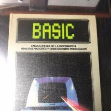Libros de segunda mano: BASIC, ENCICLOPEDIA DE LA INFORMÁTICA,. Lote 92098215