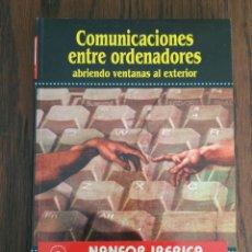 Libros de segunda mano: COMUNICACIONES ENTRE ORDENADORES. Lote 93186595
