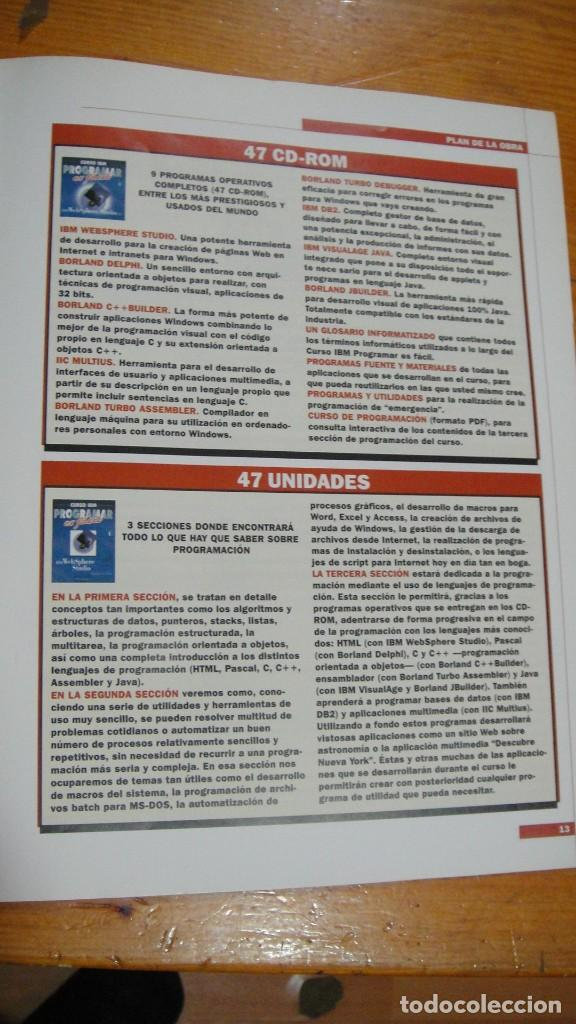 Libros de segunda mano: curso ibm programar es facil - Foto 4 - 93267060