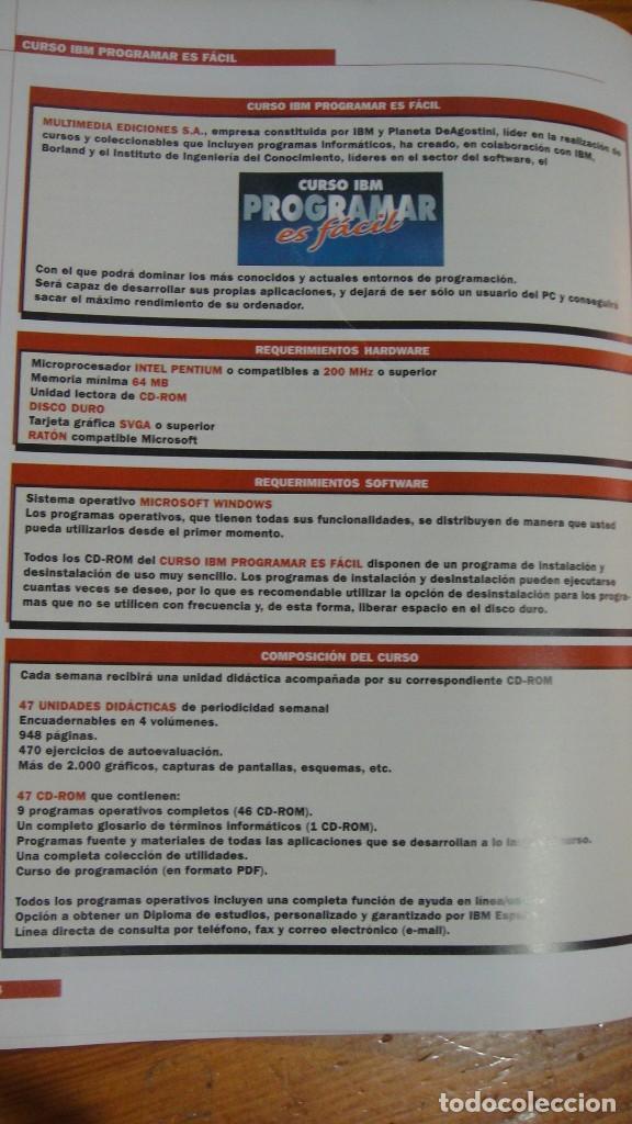 Libros de segunda mano: curso ibm programar es facil - Foto 7 - 93267060