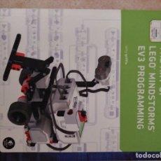 Libros de segunda mano: THE ART OF LEGO MINDSTORMS EV3 PROGRAMMING. Lote 94034965