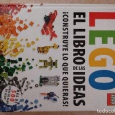 Libros de segunda mano: EL LIBRO DE LAS IDEAS LEGO. Lote 94035265