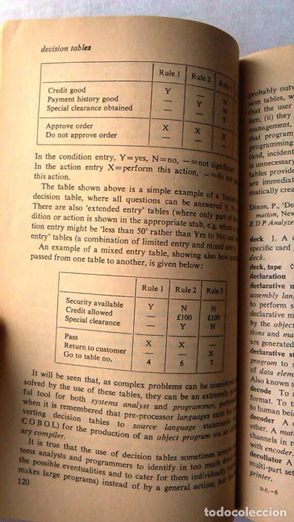 Libros de segunda mano: A dictionary of computers. Anthony Chandor. Penguin Reference Books. 1971. ISBN 0140510397. - Foto 5 - 94490686