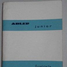 Libros de segunda mano: LIBRO DE DESPIECE DE MAQUINAS ESCRIBIR MARCA ADLER JUNIOR. Lote 94994619