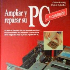 Libros de segunda mano: AMPLIAR Y REPARAR SU PC. GUIDO ROHRIG. ULRICH SCHULLER.BARCELONA 1992.. Lote 95233963