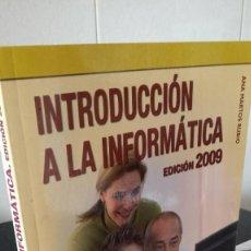 Libros de segunda mano: 64-INTRODUCCION A LA INFORMATICA, EDICION 2009, ANAYA, INFORMATICA PARA MAYORES. Lote 95598259
