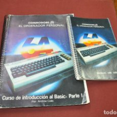 Libros de segunda mano: COMMODORE 64 - MANUAL DE USUARIO + CURSO DE INTRODUCCION AL BASIC: PARTE 1 ANDREW COLIN - TI4. Lote 95658799