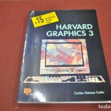 Libros de segunda mano: LAS 15 PRIMERAS HORAS CON HARVARD GRAPHICS 3 CARLOS GÓMEZ EDITORIAL PARANINFO - TI4. Lote 95693331