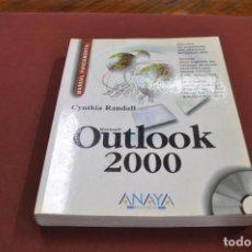 Libros de segunda mano: MICROSOFT OUTLOOK 2000 MANUAL FUNDAMENTAL CYNTHIA RANDALL ANAYA INCLUYE CD- TI4. Lote 95693671